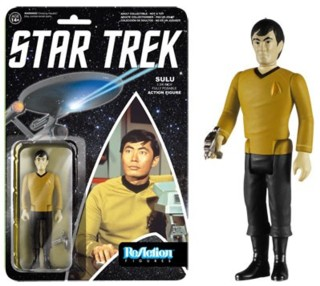 Star Trek Collectibles - Sulu ReAction Figure