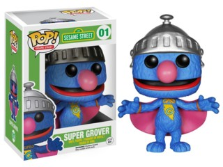 Sesame Street - Super Grover POP Vinyl Figure