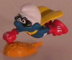 Smurf Collectibles - Super Hero Smurf Figure