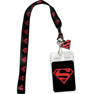 Super Hero Collectibles - Superman Lanyard ID Pouch