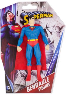 Super Hero Collectibles - Super Man Classic Bendy Figure