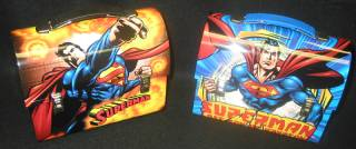 Superman Mini Metal Dome Lunch Boxes