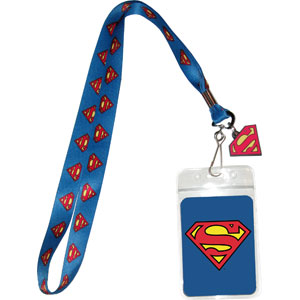 Super Hero Collectibles - Super Man Lanyard