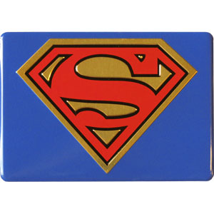 Super Hero Collectibles - Superman Metal Magnet