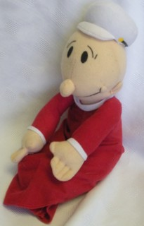Popeye Collectibles - Swee Pea Stuffed Plush Doll