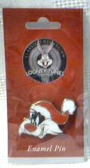Looney Tunes Collectibles - Sylvester the cat Tie Tack or Enamel Pin