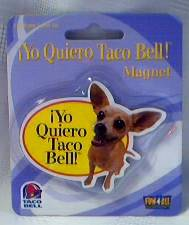 Fast Food Collectibles - Taco Bell Magnet