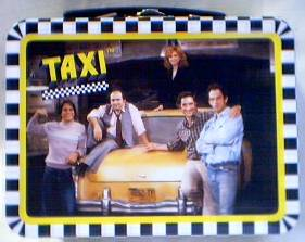 Television from the 1970's Collectibles - TAXI - Mini Metal Lunch Box Tin