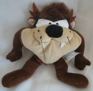 Looney Tunes Collectibles - Taz Beanbag Plush