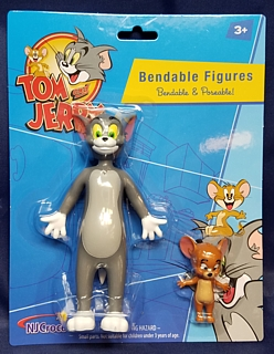 Cartoon Collectibles - Tom and Jerry  Bendable Figures