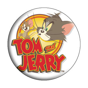 Cartoon Collectibles - Tom and Jerry Pinback Button