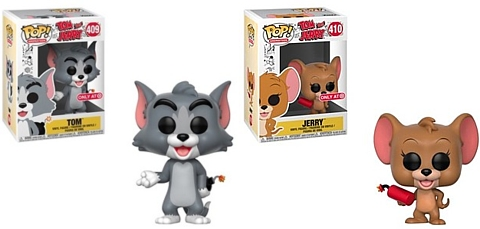 Cartoon Collectibles - Tom and Jerry  Tom Cat and Jerry Mouse Target Exclusive Funko POP Vinyls Set