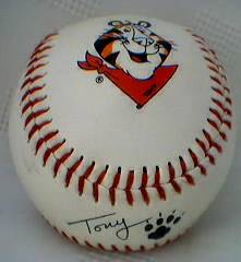 Kellogg's Collectibles - Frosted Flakes Tony The Tiger Baseball