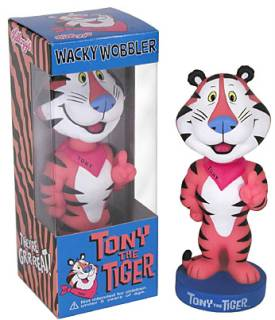 Kellogg's Collectibles - Frosted Flakes Tony The Tiger Bobble Head Nodder Dolls