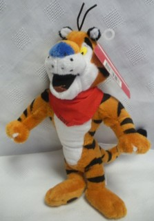 Kellogg's Collectibles - Frosted Flakes Tony the Tiger Soft Plush Beanie- Great