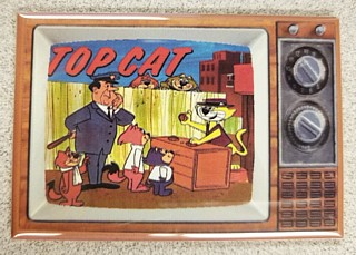 Television Character Collectibles - Hanna Barbera's Top Cat TV Magnet