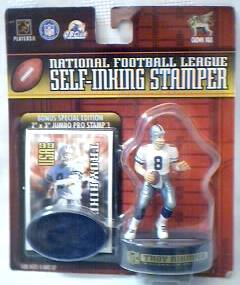 National Football League - NFL Troy Aikman Dallas Cowboys Figural Stamper