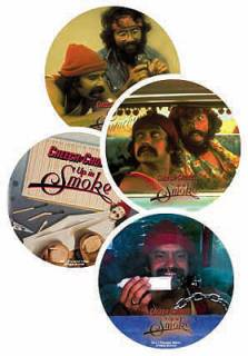 Movie Collectibles - Cheech & Chong - Up In Smoke Metal Coasters & Tin