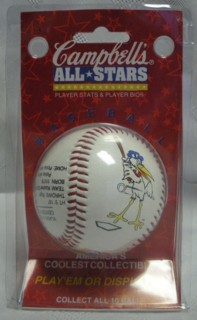 Food Advertising Collectibles - Vlasic Pickle Stork baseball