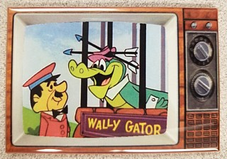 Television Character Collectibles - Hanna Barbera's Wally Gator TV Magnet