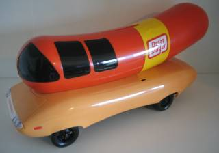 Advertising Collectibles - Oscar Mayer Weiner Mobile Whistle