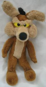 Looney Tunes Collectibles - Wile E Coyote Plush
