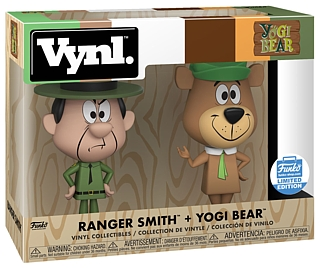 Hanna Barbera Collectibles - Yogi Bear and Ranger Smith VYNL Vinyl Figures
